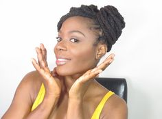 Jungle Barbie: run wild in fashion, beauty, health, hair and style: Simple Summer Protective Loc Hairstyle Tutorial Ft...