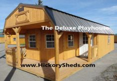 Old Hickory Sheds ~ Deluxe Porch