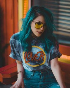 Blue hairs