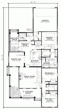 ranch homes with basement floor plans