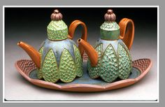 Sandi Pierantozzi: Oil and vinegar set