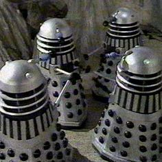 Silver Warrior Daleks - Dalek Colour Schemes and Hierarchy - The Doctor Who Site