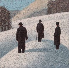 Catto Gallery | Mark Edwards Solo Exhibition 2016 | The Hill