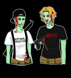Zombie Eric Harris and Dylan Klebold