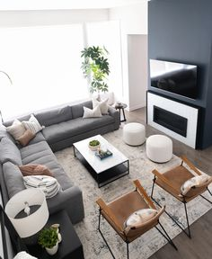 Condo Living Room, House Rooms, Living Room Decor, Home Room Design, Home Interior Design, Living Room Designs, Masculine Living Rooms, Masculine Home Decor, Home And Deco