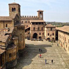 Castell'Arquato dalla Rocca - Instagram by ginnyx87