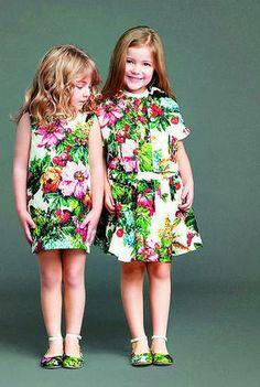 De la colección infantil de Dolce&Gabbana con su particular versión de los jardines de la isla de Sicilia