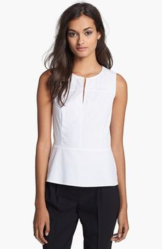 Theory 'Etia' Seamed Stretch Shell available at #Nordstrom