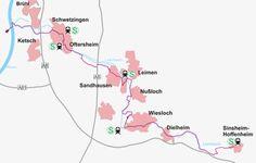 Leimbachroute von Sinsheim-Hoffenheim nach Brühl