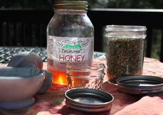 Fennel Cough Syrup and Fennel Honey