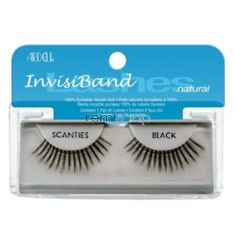 Ardell Natural Scanties  - Color Black - Strip Natural Style Eyelashes