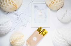 "Ich bin eine ""Pure White Hochzeits""-Box Place Cards, Place Card Holders, Getting Married, Gifts, Ideas"