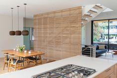 Japandi, a fusion of Japanese and Scandinavian Style - Gan Rugs Scandinavian Interior Living Room, Scandinavian Style, Interior Exterior, House Design, Studio Design, Zen House, Future Vision, Wood Slats, Wabi Sabi