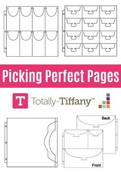 Picking ScrapRack Pages for your organization system is easy with a few tips and tricks from organization expert and product designer, Tiffany Spaulding. Scrapbook Organization, Craft Organization, Scrapbook Supplies, Craft Supplies, Style Scrapbook, Scrapbook Albums, Book Crafts, Paper Crafts, Page Protectors