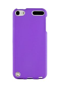 $5 HHI Rubberized Shield Hard Case for iPod Touch 5th Generation - Purple