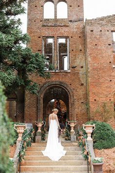 Atlanta Wedding Venue with Old World England Vibes and Christmas Decor