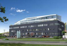 Onyks to nowoczesny, krakowski biurowiec zaprojektowany przez biuro Mofo Architekci. Jego czteropiętrowa bryła podzielona została na dwie strefy – pierwsza, trzykondygnacyjna, to prostopadłościan o gładkich elewacjach przeprutych poziomymi pasami okien i pokrytych okładziną w kolorze onyksu. Trzecie i czwarte piętro mają formę lekkiego pawilonu o nieregularnym rzucie i przeszkolonych elewacjach. Biel ścian i transparentność tej części budynku kontrastują z ciemną okładziną masywnego cokołu.