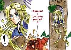 Rapunzel Glorfindel 2 by Windrelyn on DeviantArt. This is morbidly funny. xD