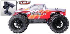 Tornado Monster Black 1/8 RTR ブラシレスモーター付きモデル #HSP #RC #ラジコンカー #モンスタートラック #ホビー #クリスマス #プレゼント