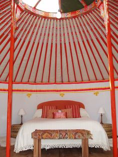 mongolian yurt cortes de la frontera