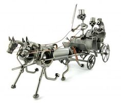 Nuts and Bolts Horse and Carriage