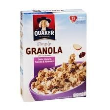 Quaker Simply Granola Oats Honey Raisins  Almonds 28 Oz Pack of 2 2 * Be sure to check out this awesome product. Note: It's an affiliate link to Amazon.