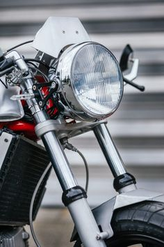 BMW K100 Custom Motorcycle 12