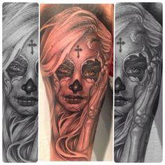 #muerta creations❤ @fusion_ink @Fk Irons #spektra @bigprick_tattoosupply @tattooafterlife WWW.TATUBABY.COM - @Taylor Deaton- #webstagram