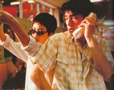 Faye Wong and Takeshi Kaneshiro - Chungking Express 恋する惑星 Aesthetic People, Film Aesthetic, Cinematic Photography, Film Photography, Movies Showing, Movies And Tv Shows, Faye Wong, Chungking Express, Human Poses Reference