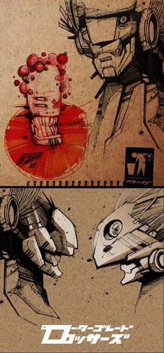 Digital Sketches 2012 by Artem Solop, via Behance