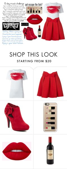 """""""Situations"""" by elizz-denne on Polyvore featuring Maison Margiela, WithChic, Impo, Casetify and Kikkerland"""