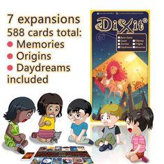 Dixit 영어 보드 게임, 기본/퀘스트/odassey/기원/여행/daydreams/, giftbox입니다 카드 jogo dixit 사랑하고 그런게 장난 인, mtg 매직
