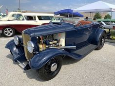 Vintage Cars, Antique Cars, Car Man Cave, 1932 Ford, Hot Rod Trucks, Hot Rides, Down South, Street Rods, Amazing Cars