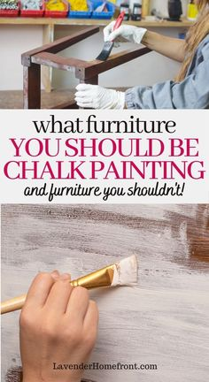 Best Chalk Paint, Chalk Paint Projects, Chalk Painting, Painting Tips, Glazing Painted Furniture, Repainting Furniture, Chalk Paint Furniture, Chalk Paint Cabinets, Distressing Chalk Paint