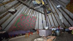Khanty Choom | Khanty - Salekhard - Neo-nomadic semi-permanent tent dwellings (14)