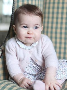 Hello from Princess Charlotte! See the Adorable New Photos
