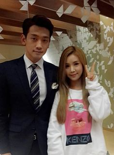 The two met up as Cao Lu made a surprise appearance on SBS Wednesday-Thursday drama <My Lovely Girl> starring Rain. Cao Lu will appear as a member of girl group who made a successful comeback with a song 'It's Tight' with the help of Rain, who is the CEO of a large m