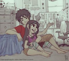 Hanging Around by hanaekaptr on DeviantArt - IS THERE A NAME FOR THIS SHIP? BECAUSE I AM JOINING.