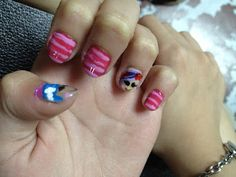 -christhingsss-: DIY FRIDAY: Lalaloopsy Nail Art