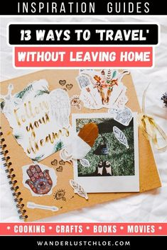 From cooking a new dish, to watching a foreign film and learning a new language, you can enjoy all of these travel experiences without leaving your home. Best Travel Gifts, Best Travel Apps, Ways To Travel, Travel Tips, Travel Destinations, Travel Packing, Leaving Home, South America Travel, Africa Travel