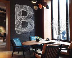"""171 curtidas, 9 comentários - DESIGNER MARCUS FILHO (@marcusfilhodesigner) no Instagram: """"A melhor parte da minha profissão é a inovação!!! . . . . . #decor #paulascher #design #decorart…"""" Paula Scher, Instagram, Design Projects, Letter B"""