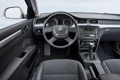 Release 2015 Skoda Superb Combi Review Interior View Model