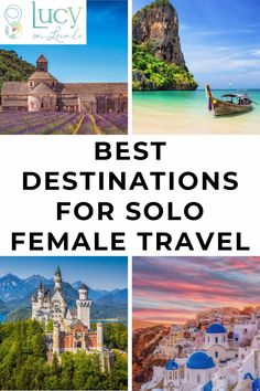 Best Destinations For Solo Female Travelers: Solo trip destinations based on personal experience, safety standards, & popularity with other solo travelers. Thailand Travel, Asia Travel, Solo Travel, Travel Usa, Travel Tips, Croatia Travel, Bangkok Thailand, Hawaii Travel, Italy Travel