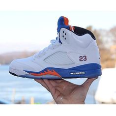 finest selection 699f4 1acf4 This Jordan 5 custom is Knick themed and done by  sevzero (Instagram)   TheSoleLibrary  CustomOfTheWeek · Air JordansDetroit
