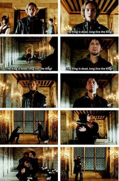 Long Live the King! Bash and Francis reaction to their fathers death