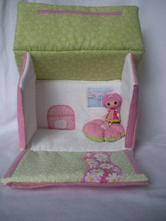 Lucinda's Jewel Sparkles house (inside) by MandySewSweet on Etsy