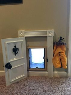 Animal Room, Animal House, Niches, Dog Rooms, Rooms For Dogs, My New Room, My Dream Home, Home Projects, Farmhouse Decor