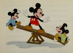 From Rare Book...Mickey Never Fails
