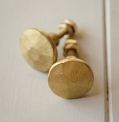 Brass hardware.  Like the hammered look combined with elegant white cabinets. #LGLimitlessDesign & #Contest