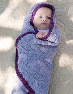 Sweet Lullaby Seamless Baby Blanket - Knitting Patterns and Crochet Patterns from KnitPicks.com